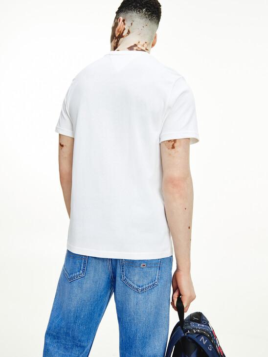 Organic Cotton Logo Embroidery T-Shirt