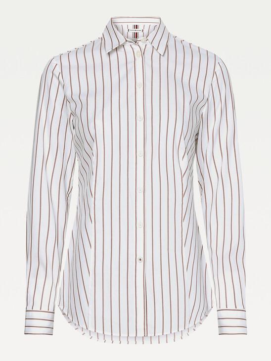 Pinstripe Slim Fit Shirt