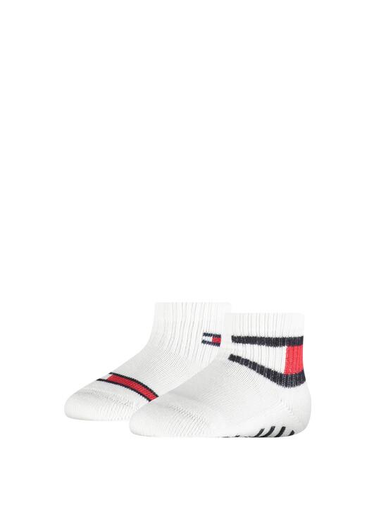 2-Pack Tommy Flag Baby Socks