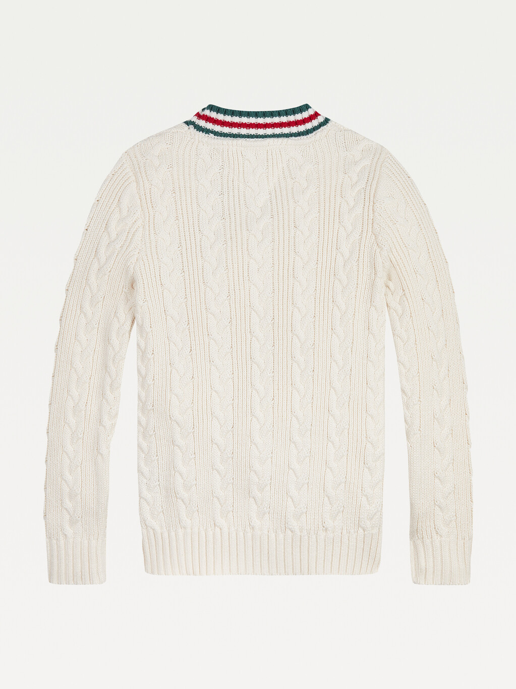 BOYS TIPPED CABLE KNIT CARDIGAN