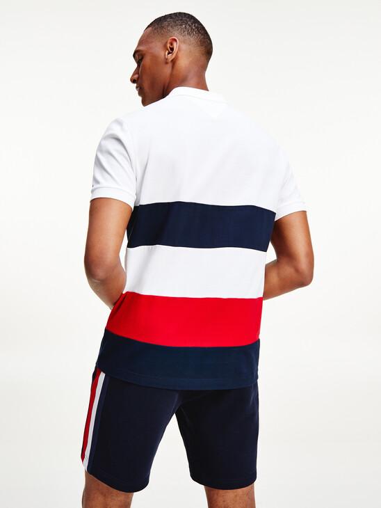 Color Block Polo Shirt