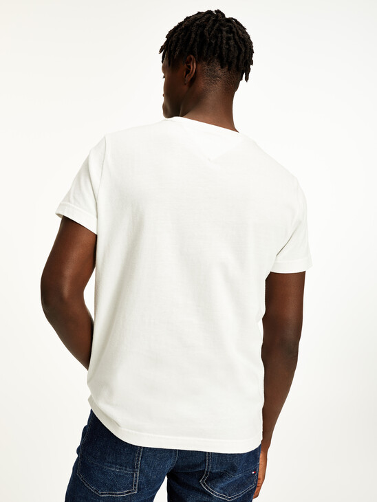 Recycled Cotton Crew Neck T-Shirt