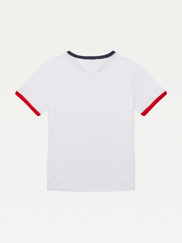 Contrast Organic Cotton Logo T-Shirt