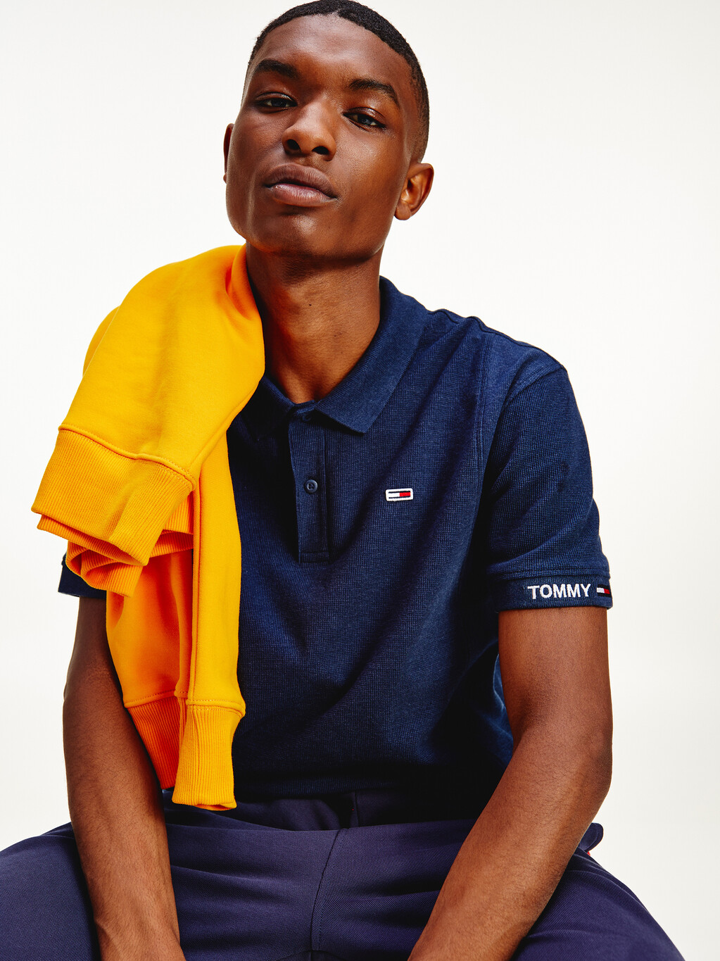 Vintage Micro Waffle Relaxed Polo