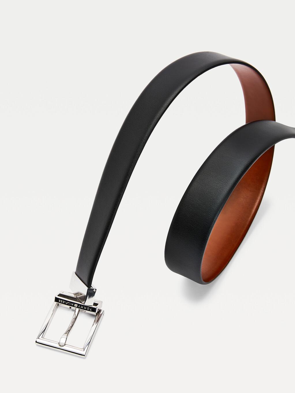 Layton Reversible Leather Belt