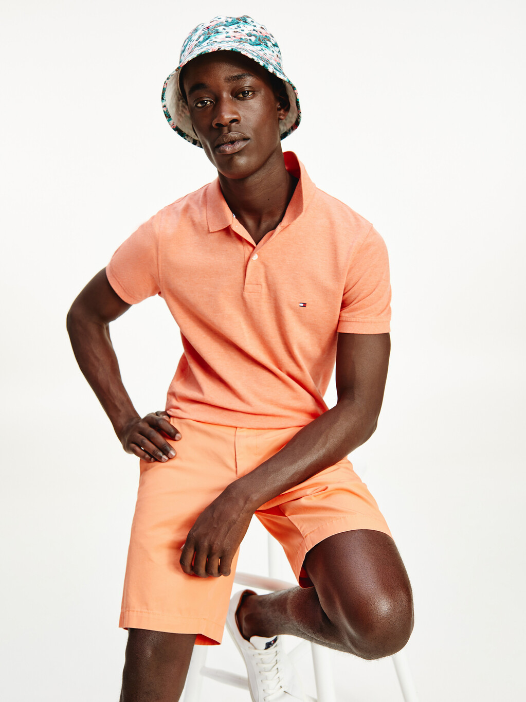 Heather Slim Fit Polo