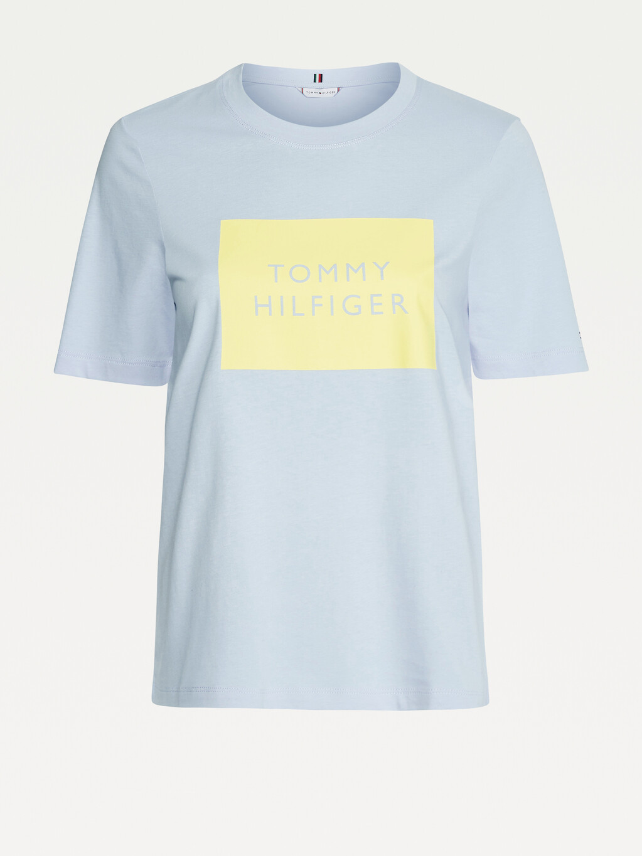 Organic Cotton Box Logo T-Shirt