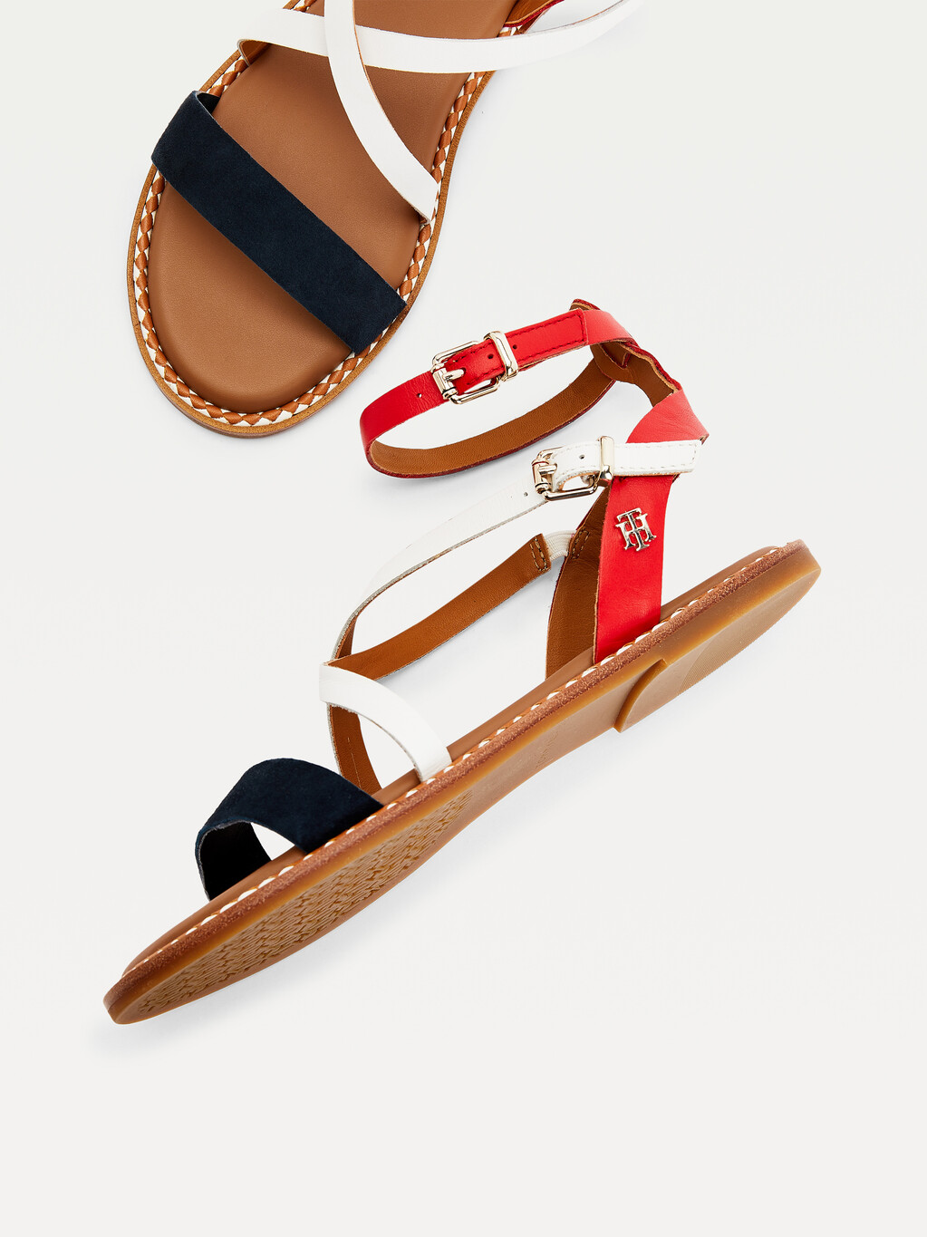 Essential Leather Strappy Sandals