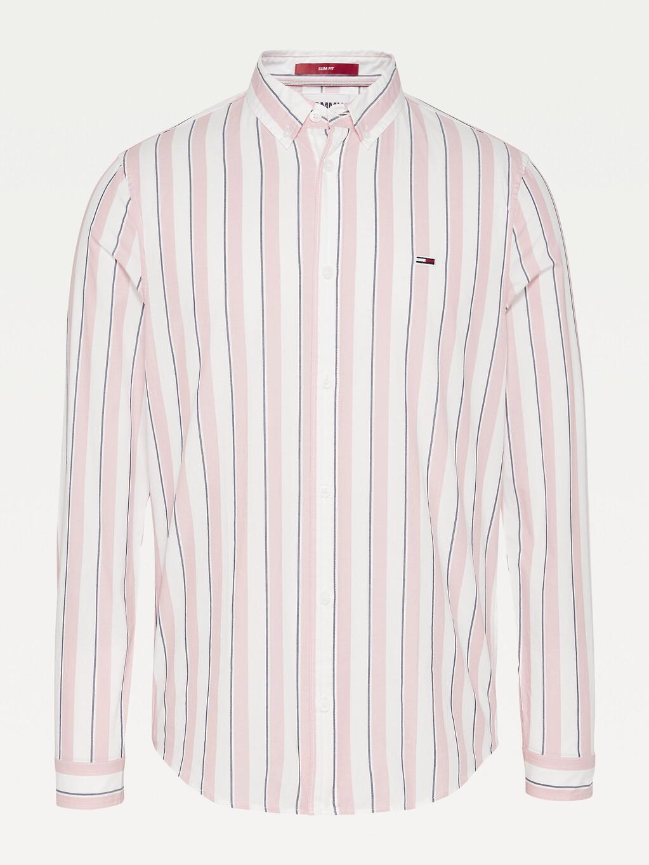 Essential Striped Organic Cotton Shirt