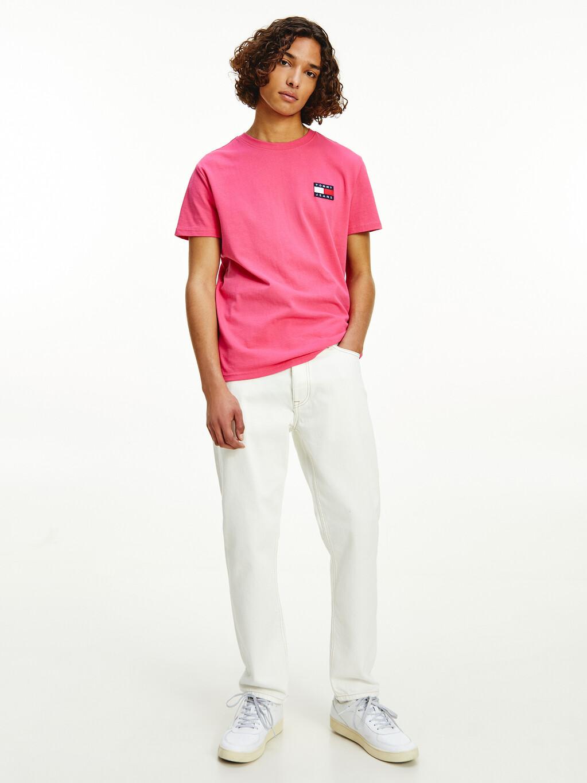 Organic Cotton Flag Badge T-Shirt