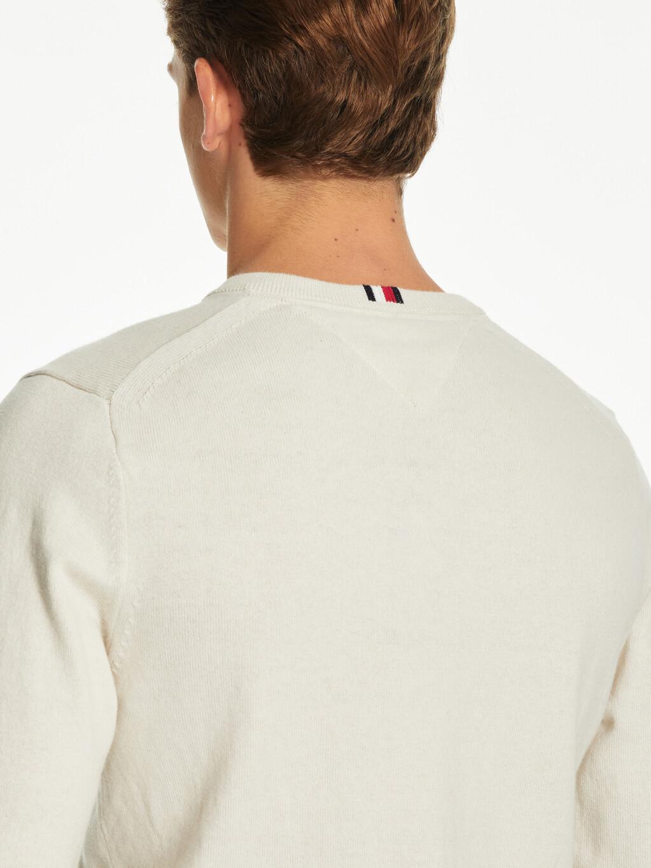 Pima Cotton Cashmere V-Neck Jumper