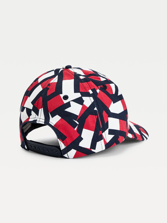 Kids' Flag Print Baseball Cap