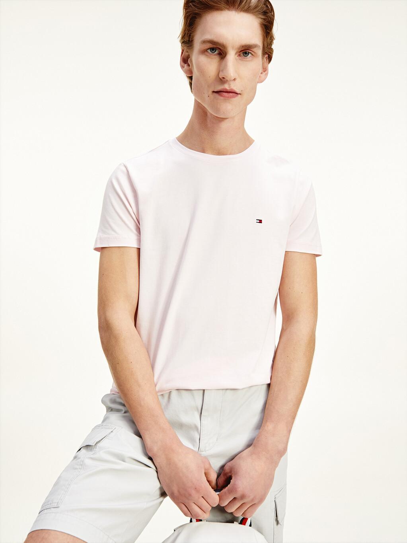 Organic Cotton Stretch Slim Fit T-Shirt