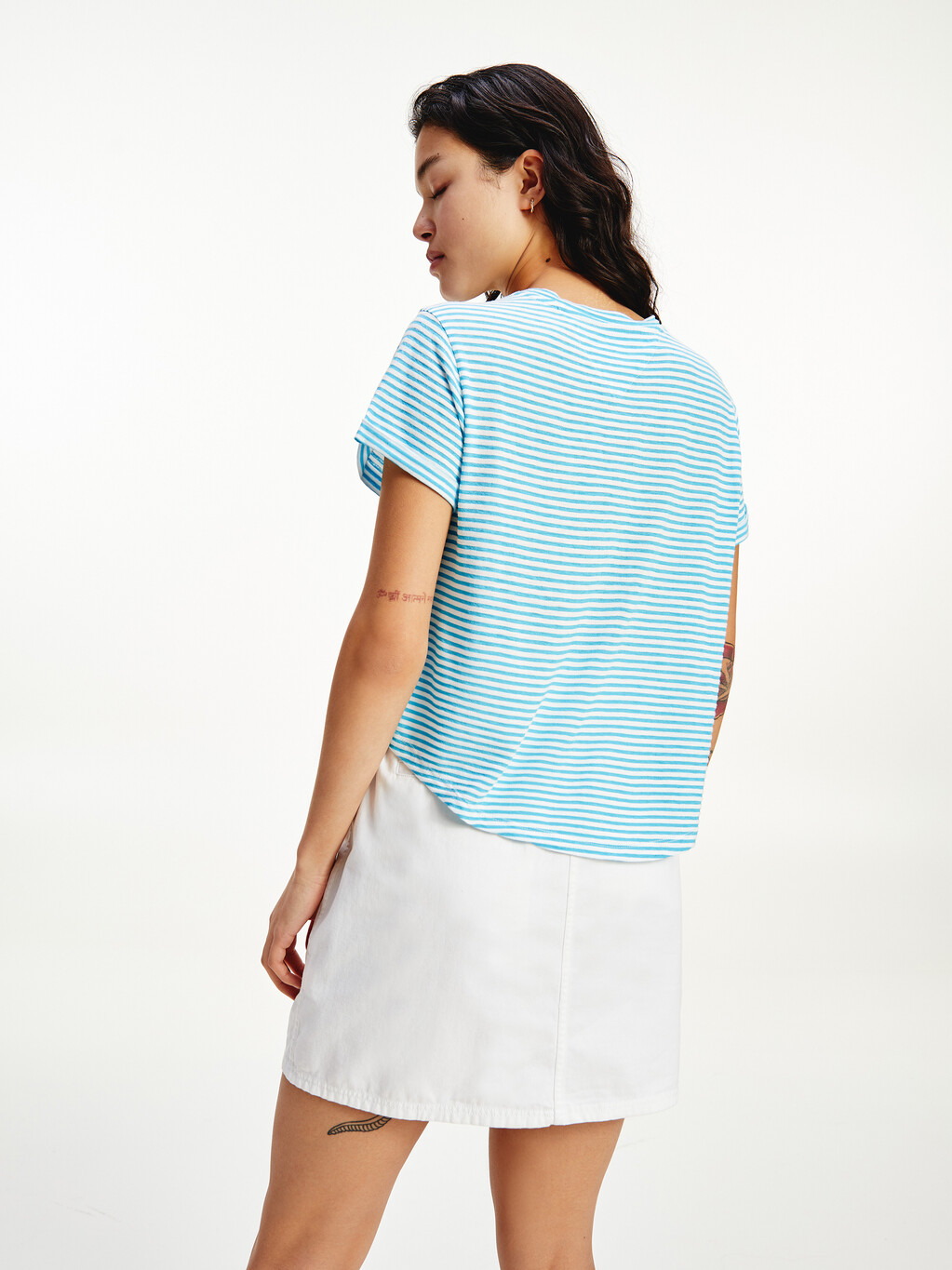 Stripe Relaxed Fit T-Shirt