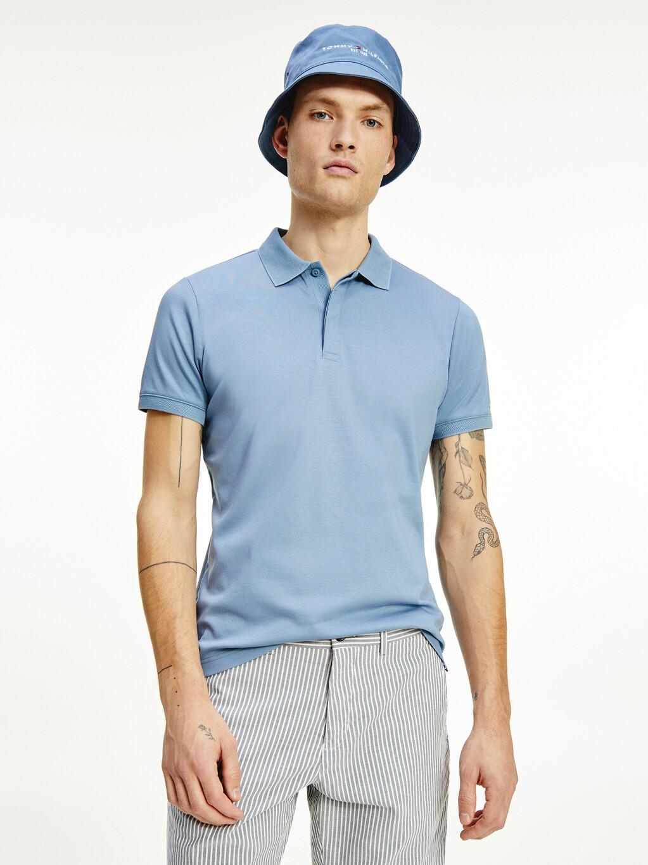 Organic Cotton Slim Fit Logo Polo