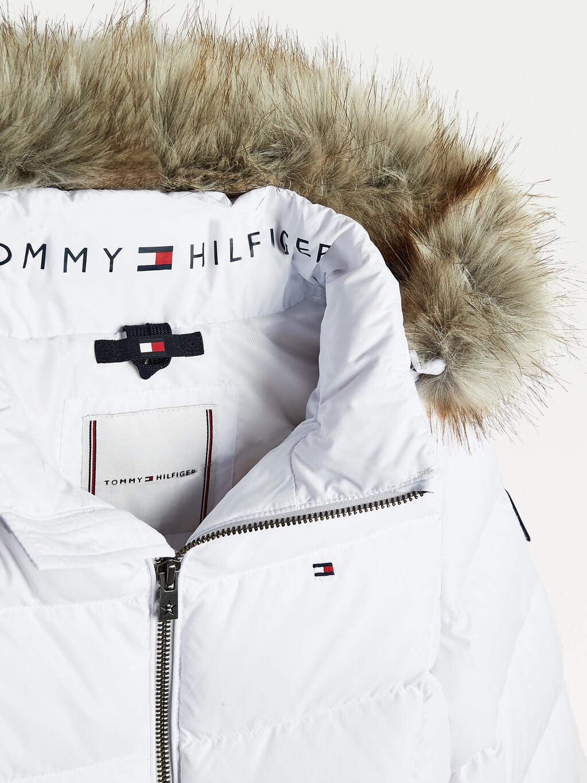 Essential Faux Fur Hood Down Jacket