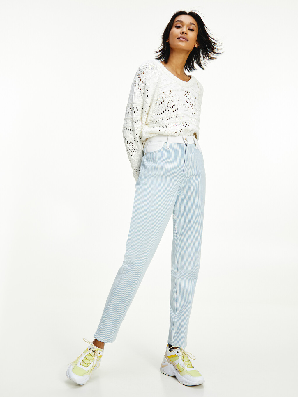 Tommy Icons Gramercy High Waist Tapered Jeans