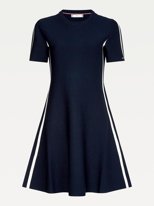 Signature Tape Slim Fit Dress