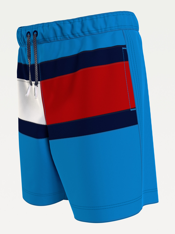 Signature Regular Fit Mid Length Swim Shorts