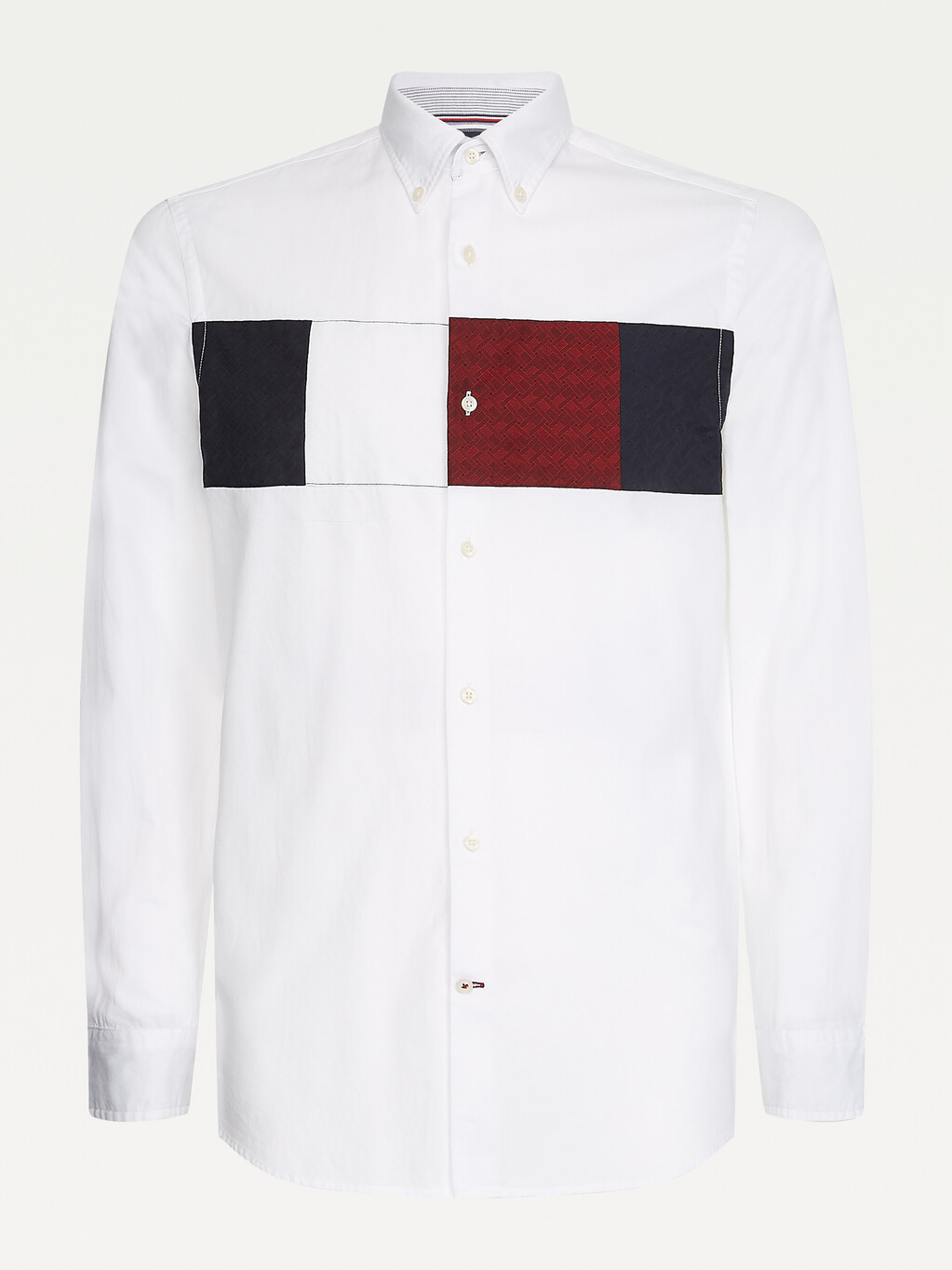 TOMMY COLOR BLOCK SHIRT