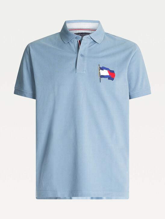 1985 Flag Cotton Polo