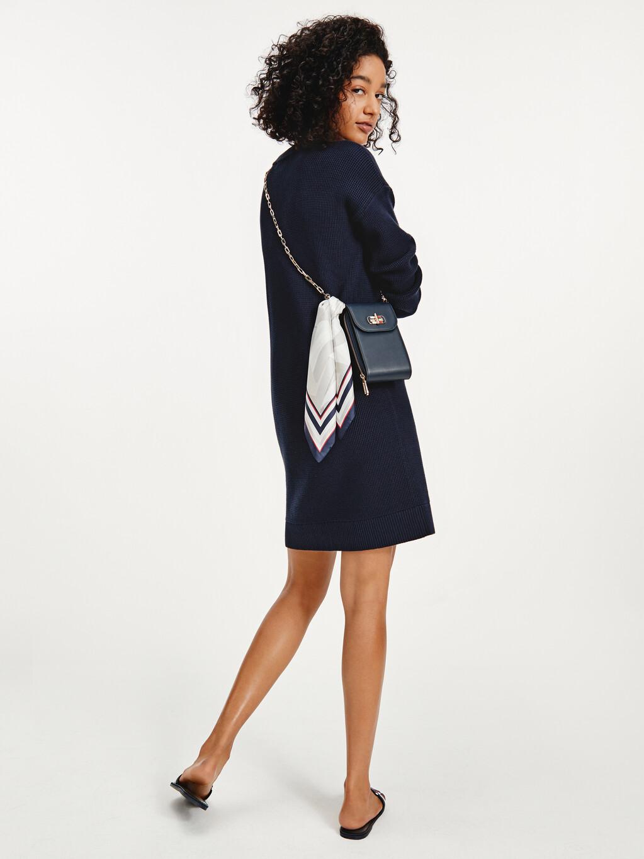 Motion Flag Knee Length Dress