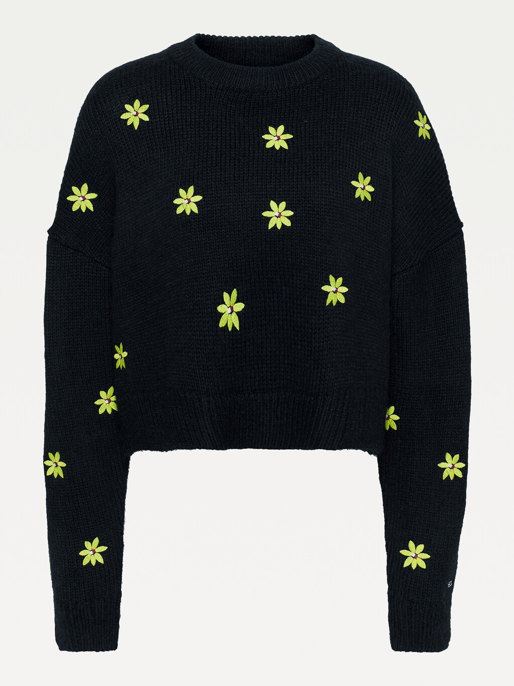 Floral Embroidery Jumper