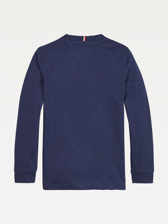 Logo Long Sleeve Organic Cotton T-Shirt