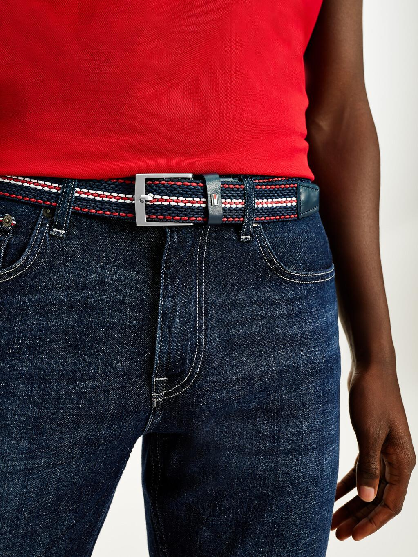Stretch Braided Design Belt