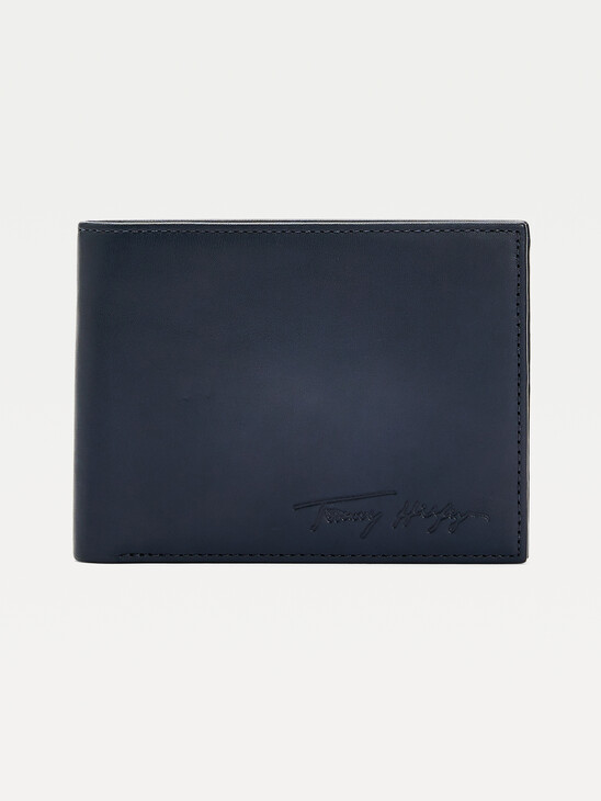 Signature Leather Credit Card Wallet
