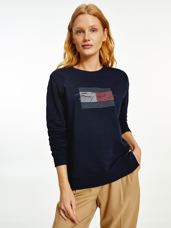 Organic Cotton Signature Logo Sweatshirt