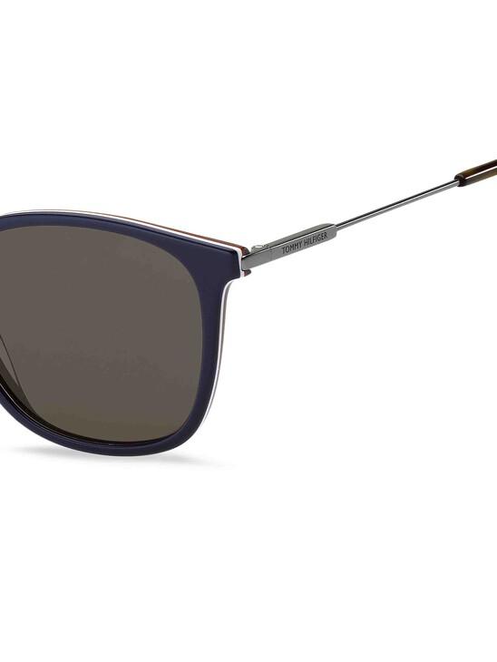 Acetate Rounded Square Sunglasses