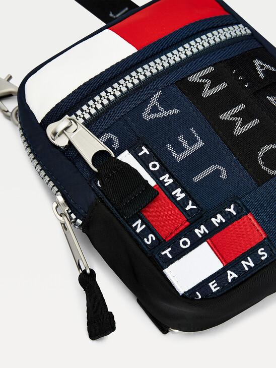 Logo Tape Crossbody Bag