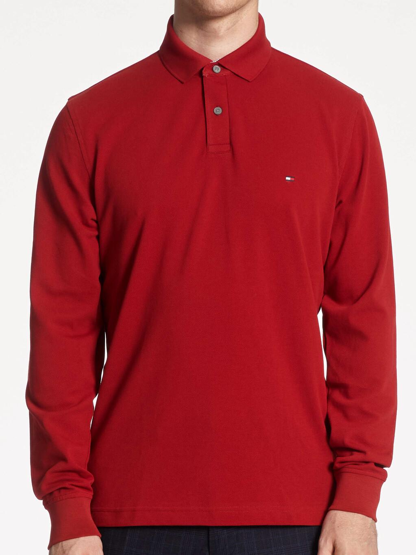 1985 TH Flex Regular Fit Long Sleeve Polo