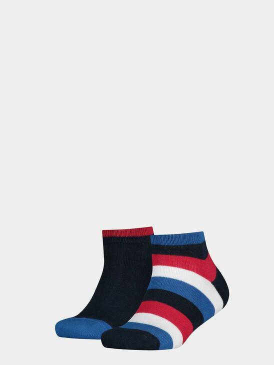 Basic Stripe Quarter Socks