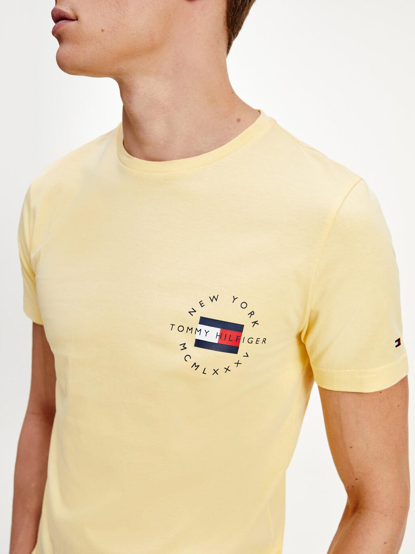 Organic Cotton Circle Logo T-Shirt