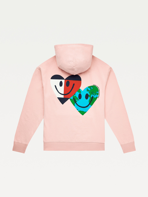 Luv The World Hearts Hoody