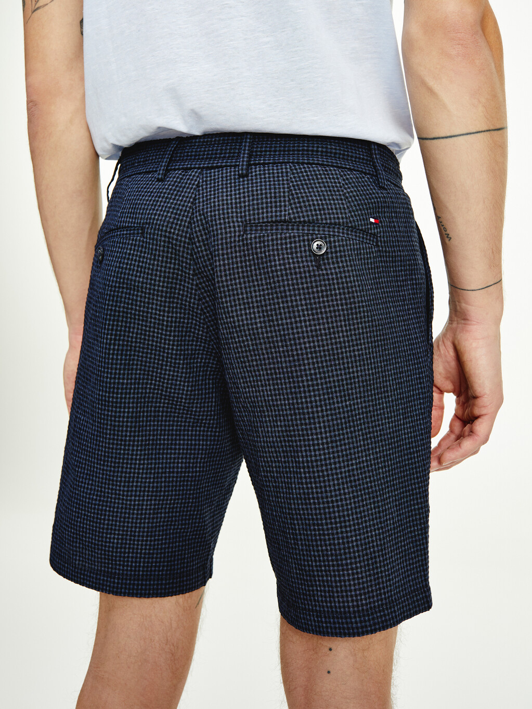 Brooklyn Gingham Seersucker Shorts