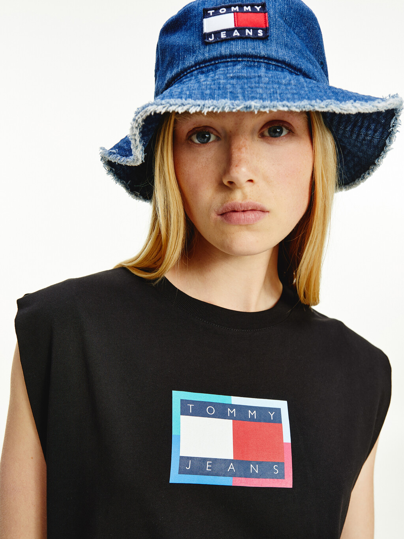 Organic Cotton Logo Sleeveless T-Shirt Dress