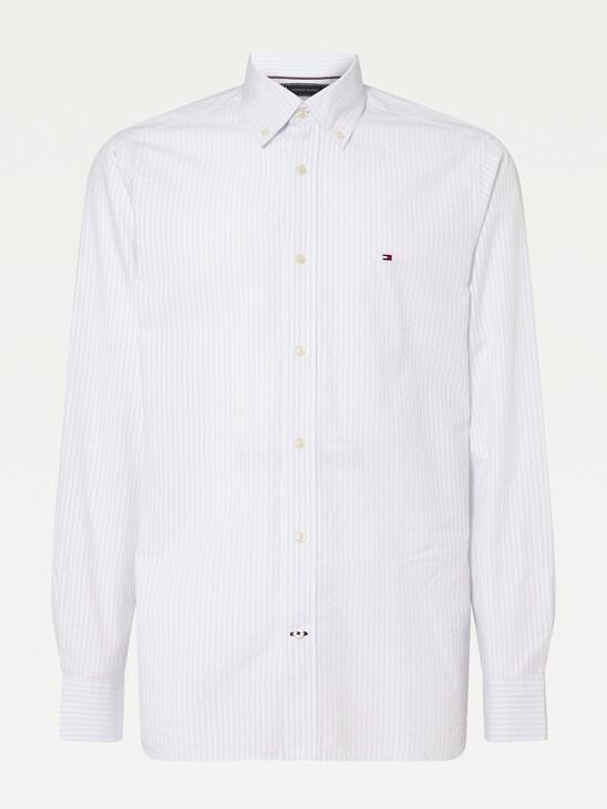 Vertical Stripe Regular Fit Shirt