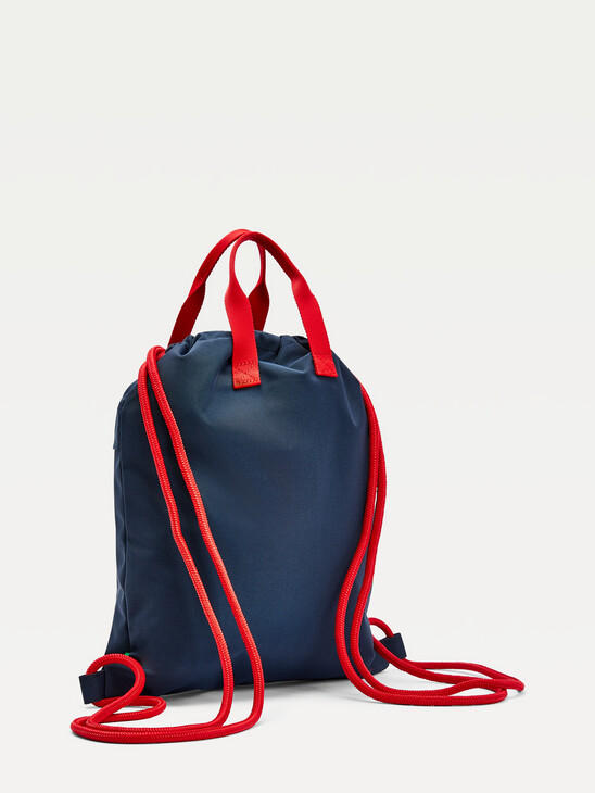 Kids' Recycled Polyester Drawstring Backpack