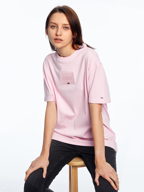 Tonal Logo Oversized Fit T-Shirt
