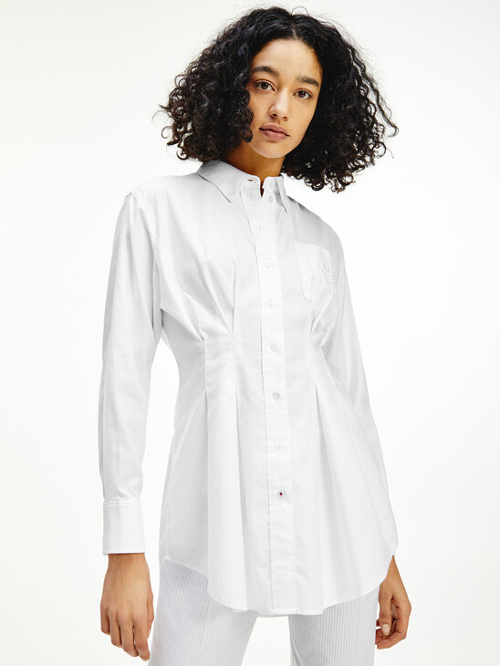 Tommy Icons Oversized Relaxed Fit Shirt