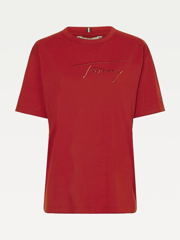 Signature Logo Cotton T-Shirt