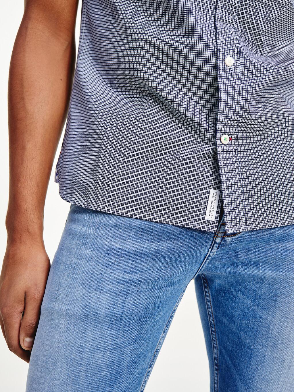 The Flex Slim Fit Mini Print Shirt