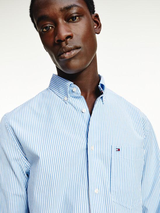 TH Flex Stripe Regular Fit Shirt