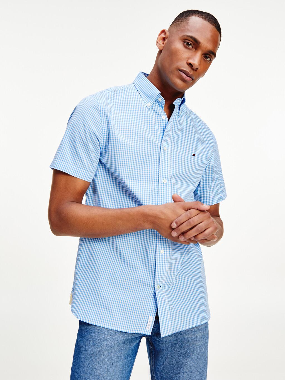 Gingham Short Sleeve Shirt