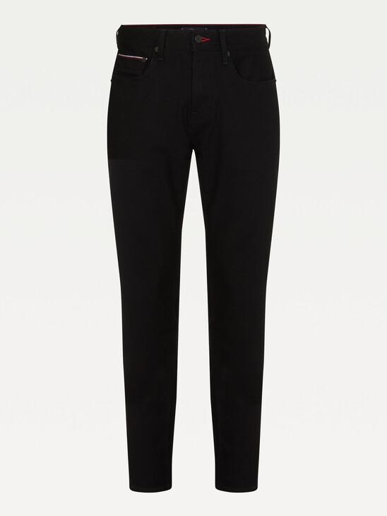 Denton Straight Black Jeans