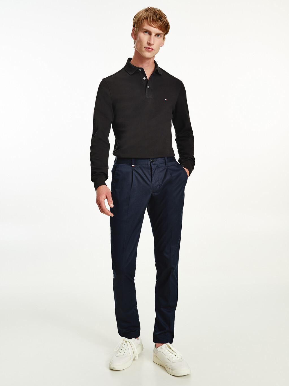 1985 TH Flex Slim Fit Long Sleeve Polo