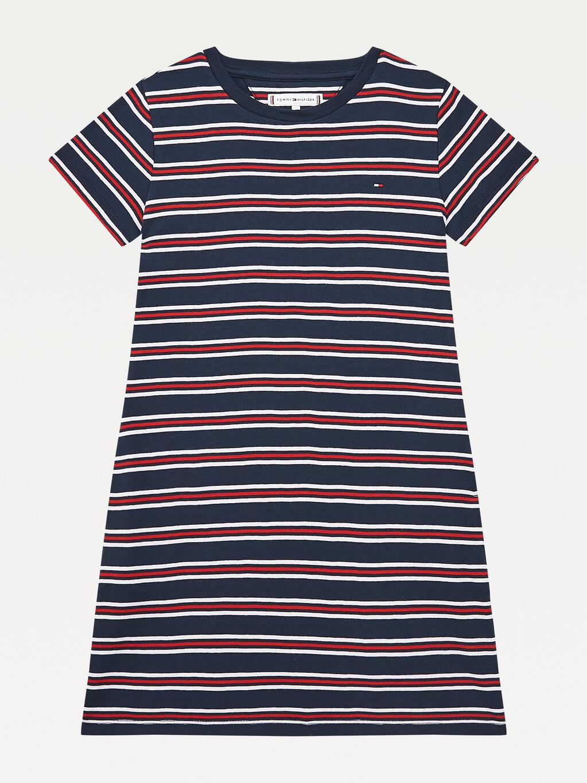 Rib-Knit Skater Dress